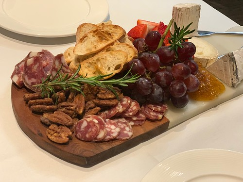 Charcuterie at The Veranda