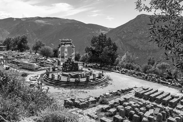 Δελφοί - Delphi - The Tholos of Delphi