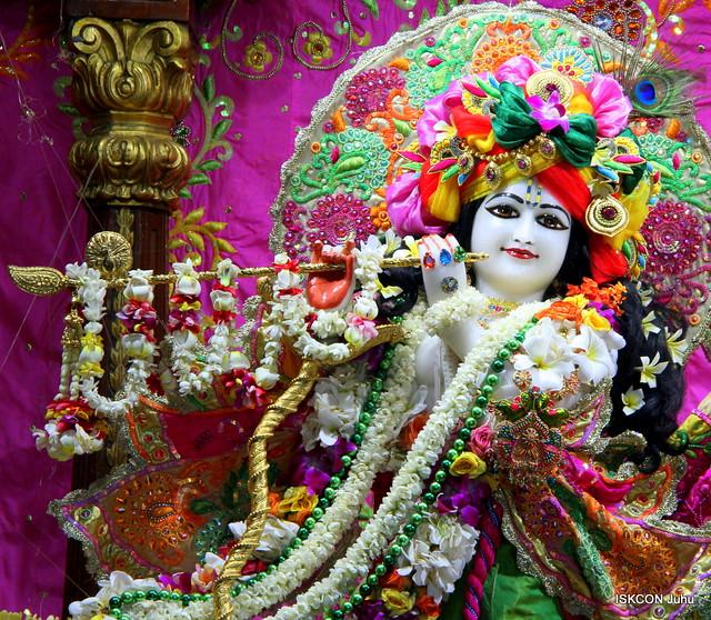 ISKCON Juhu Sringar Deity Darshan on 4th June 2019