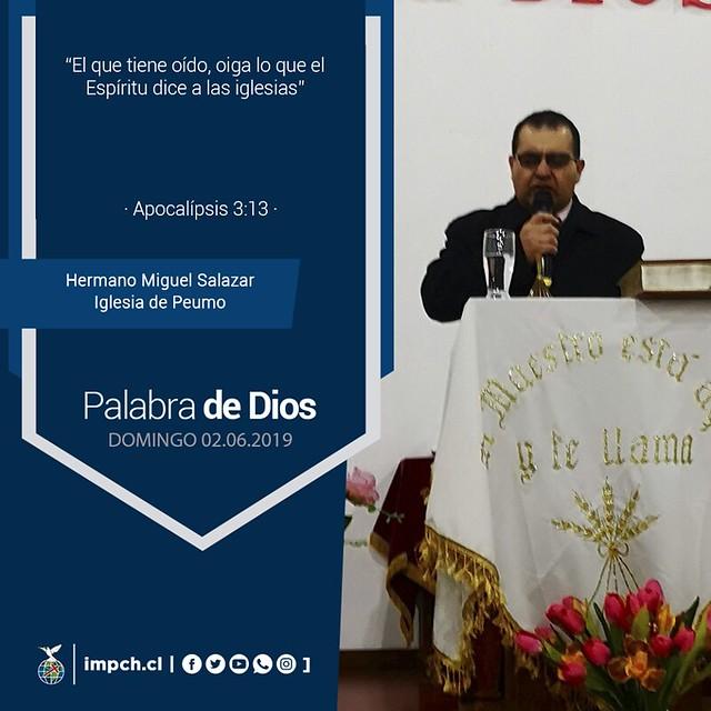Palabra de Dios   Domingo 03 junio 2019
