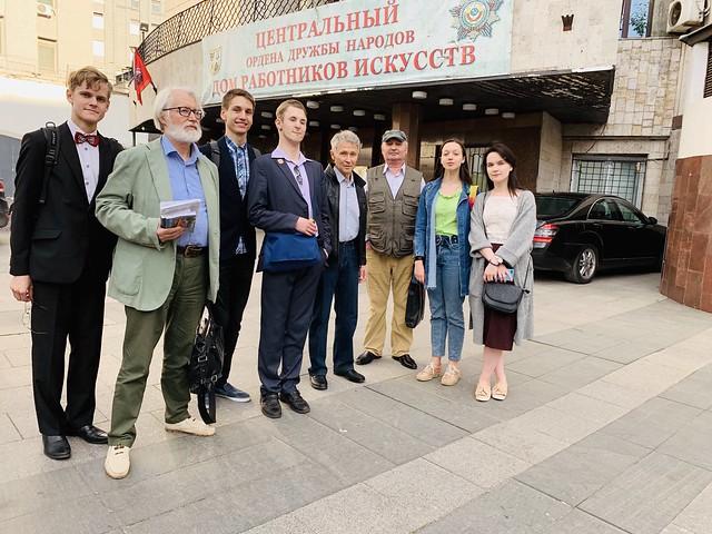 мая 27 2019 - 18:46 - Михаил Николаевич Попов со студентами