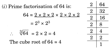 NCERT Solutions for Class 8 Maths Chapter 7 Cubes and Cube Roots Ex 7.2 Q1