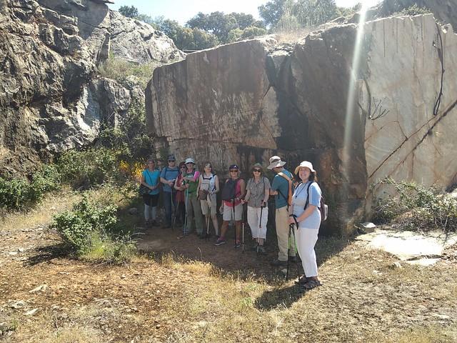 CDMS :: senderismo por la huella romana en Entresierras: Fuenterroble-Casafranca-Los