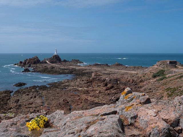 Corbière Lighthouse, Jersey (Low Tide)