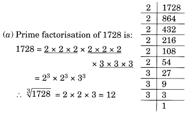 Cubes and Cube Roots NCERT Extra Questions for Class 8 Maths Q4