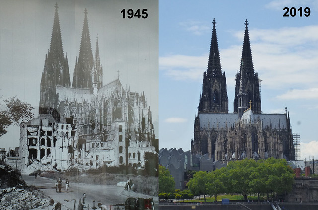 1945 - 2019 Cologne Cathedral