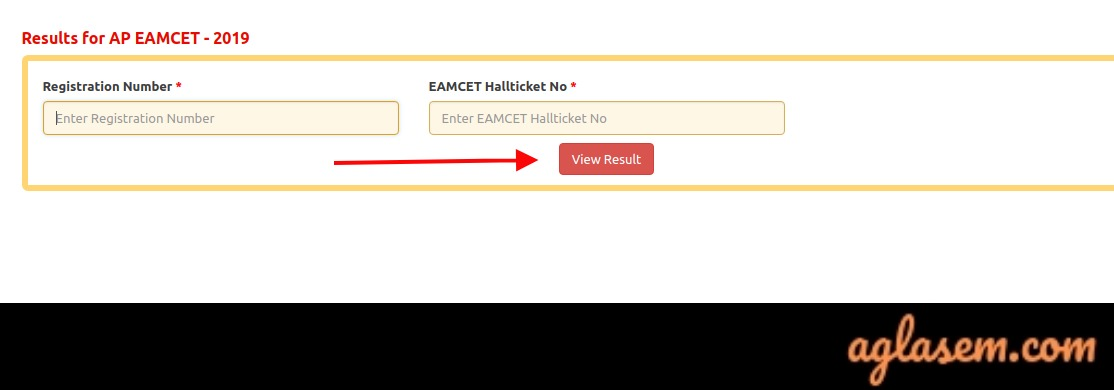 AP EAMCET 2019 Result login