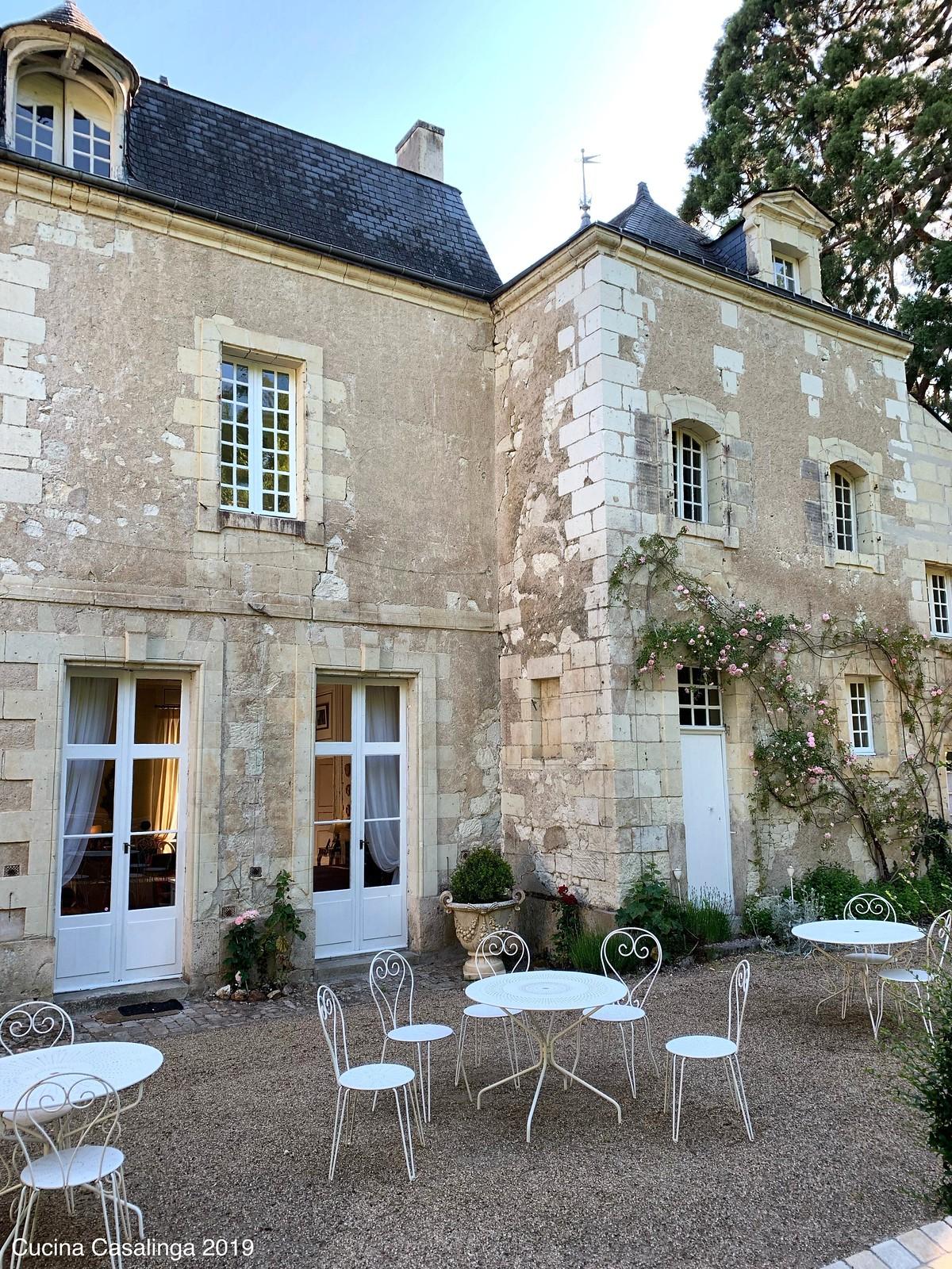 Saumur - Chateau de Beaulieu - Außen
