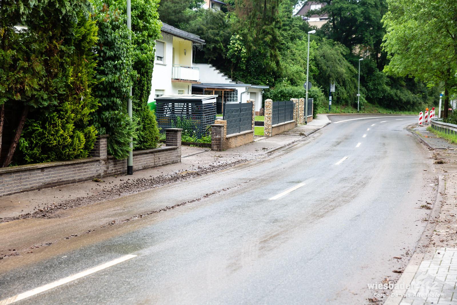 Unwetter in Bad Schwalbach 03.06.19