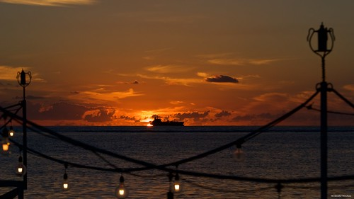 maradiva flicenflac mauritius flic en flac sunset people sea ocean deck dusk sun pentax pentaxk3ii pentaxart pentaxlens pentax18135 romantic ship cargo horizon dark cruise