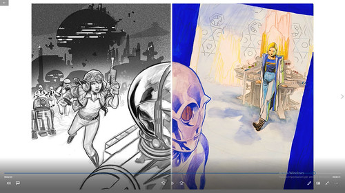 Doctor Who Vs. Doctor Aphra. Live Performance tra analogico e digitale, a cura della Scuola Romana dei Fumetti.