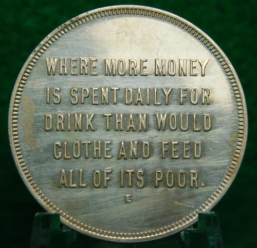 New York Prohibition Token reverse