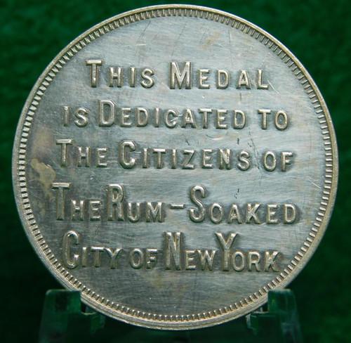 New York Prohibition Token obverse