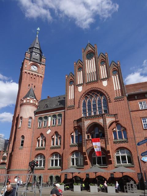 1901/04 Berlin Rathaus Köpenick mit Turm 54mH von Hans Schütte/StBR Hugo Kinzer Alt-Köpenick 21-29 in 12555 Köpenick