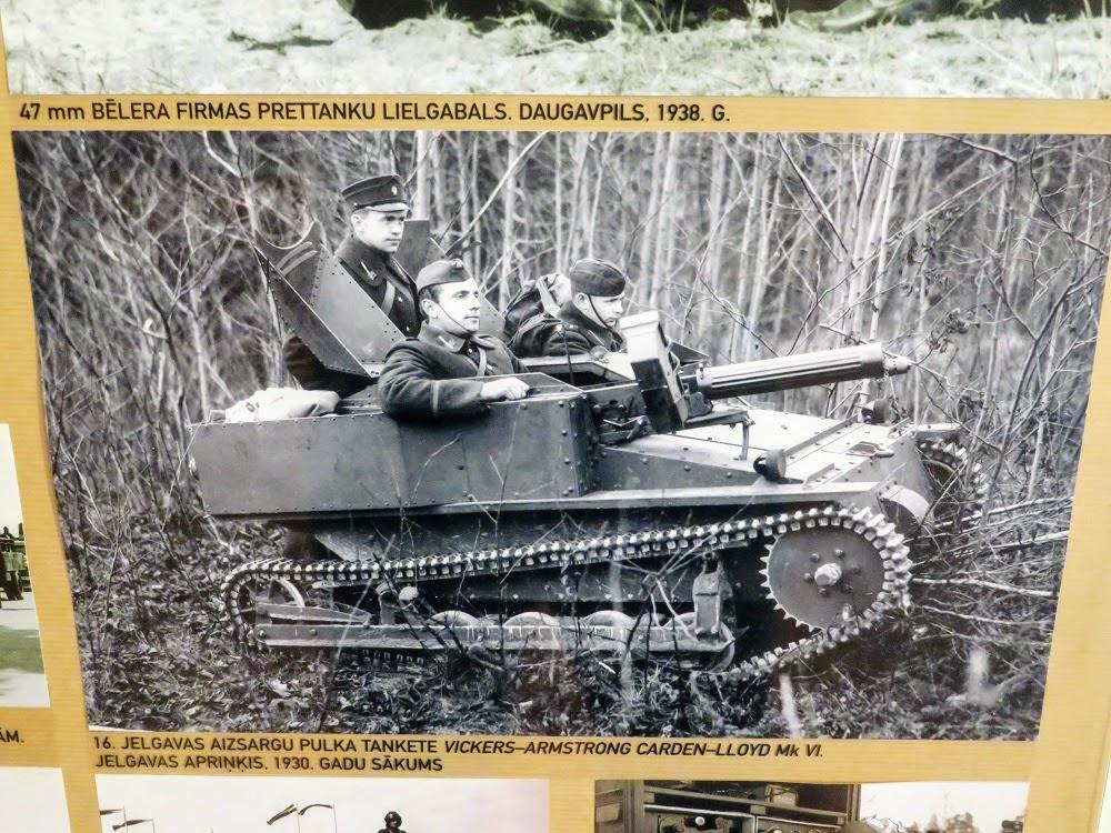 Золотая осень в Латвии. Военный музей. Армия Латвийской Республики