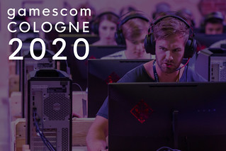 Lan Party at the  biggest fair for digital games at Gamescome Cologne 2020 in Germany