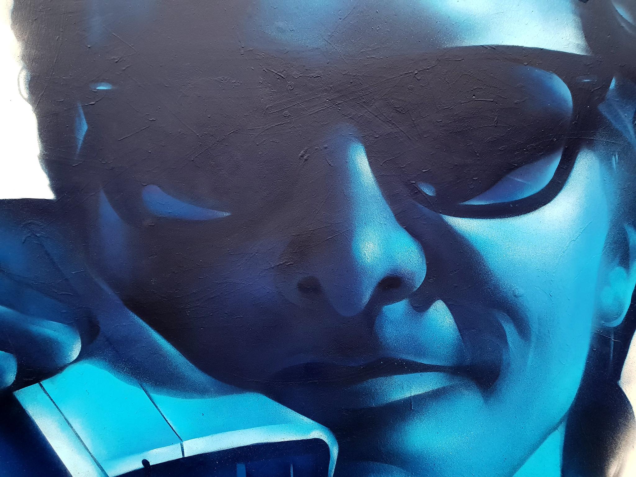 Street art Cardiff: Callaghan Square