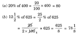 Comparing Quantities NCERT Extra Questions for Class 8 Maths Q2