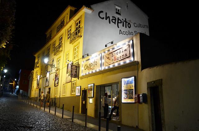 Chapito a Mesa, Lisbon