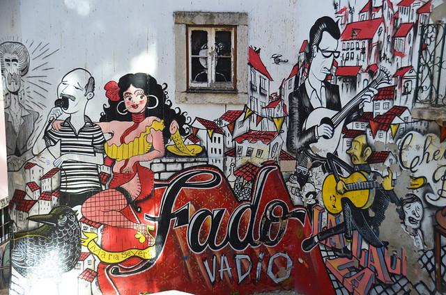 Fado mural, Lisbon