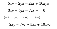 NCERT Solutions for Class 8 Maths Chapter 9 Algebraic Expressions and Identities Q4.1
