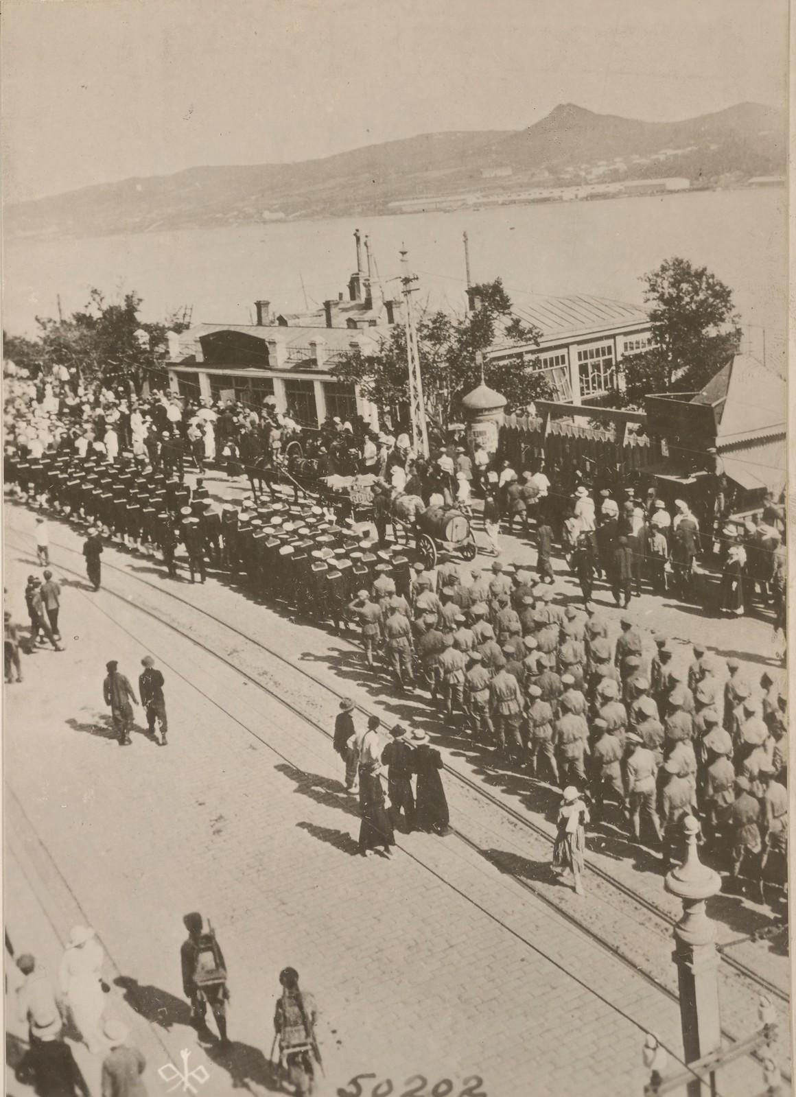 1918. Высадка британских войск. 03.08