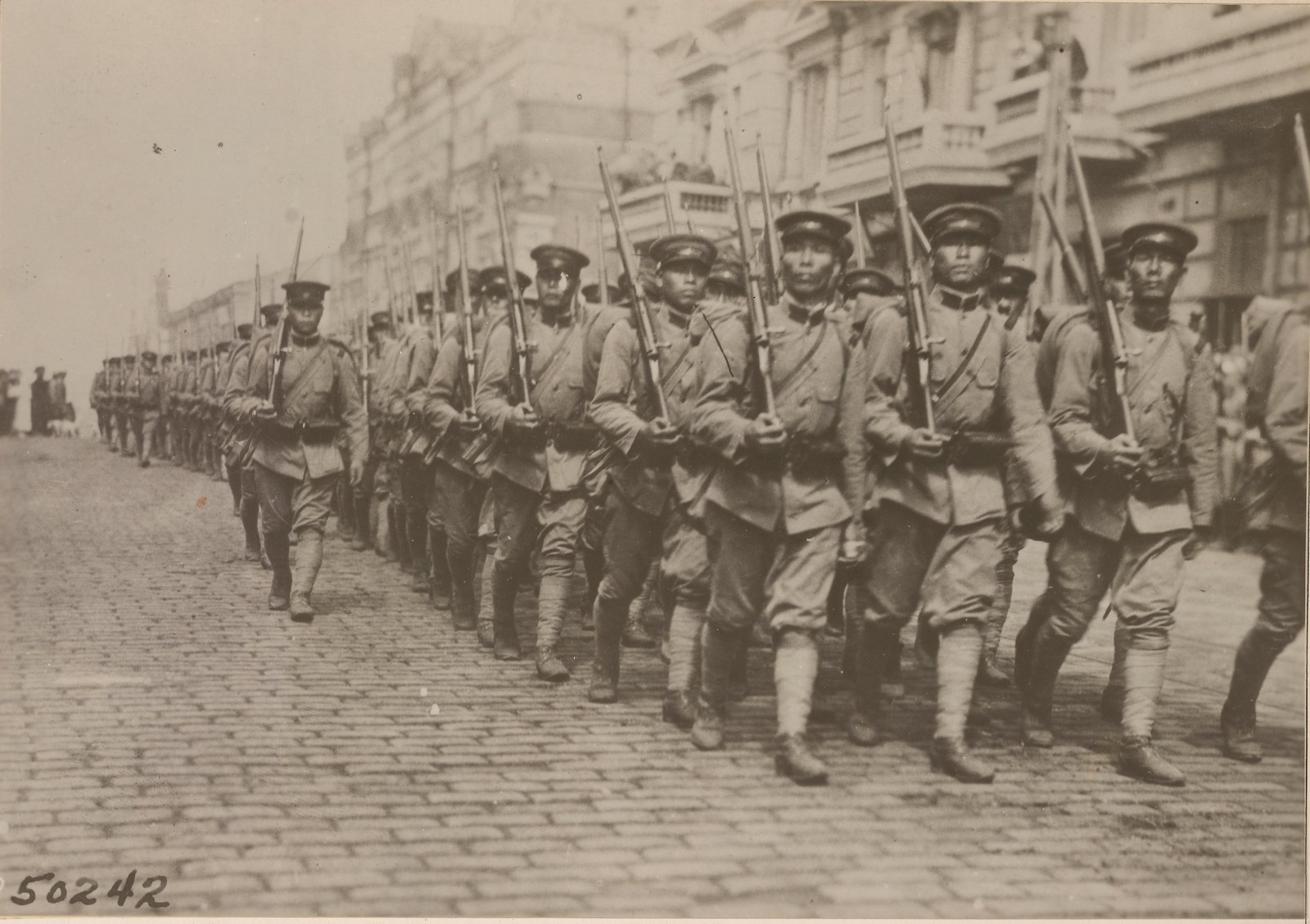 09. 1918. Японские войска во Владивостоке. 11.08.