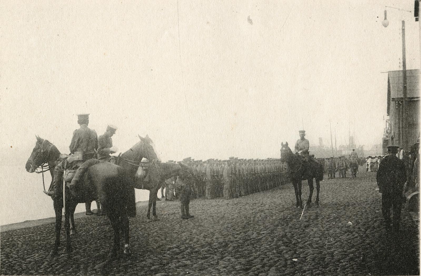 1918. Высадка японских войск