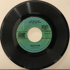 DELEGATION:OH HONEY(RECORD SIDE-B)