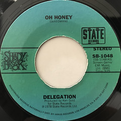 DELEGATION:OH HONEY(LABEL SIDE-A)