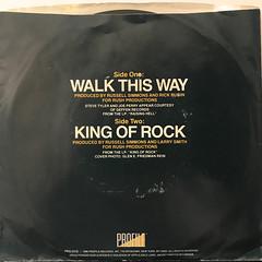 RUN D.M.C.:WALK THIS WAY(JACKET B)