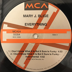 MARY J. BLIGE:EVERYTHING(LABEL SIDE-C)