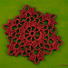 Crochet Lace Flower Hexagon