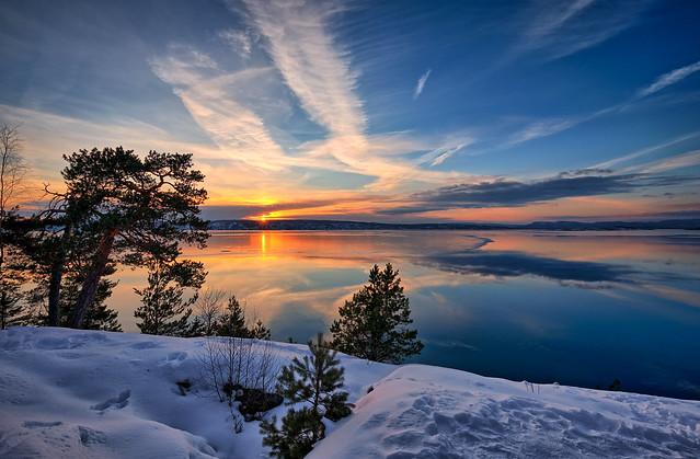 Hvervenbukta, Norway