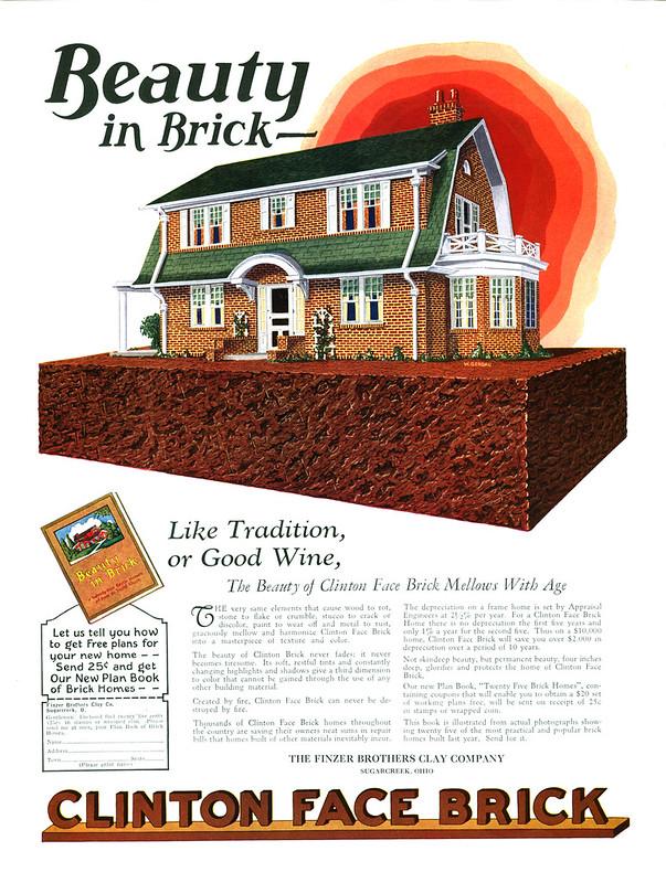 Clinton Face Brick 1927