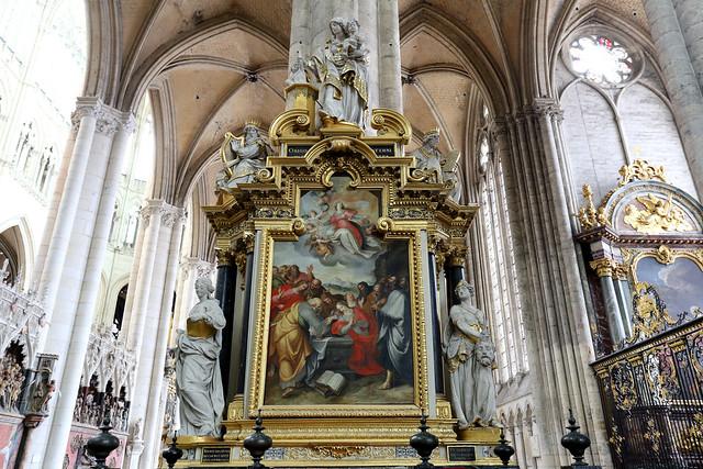 Cathédrale Notre-Dame d'Amiens, Amiens, France