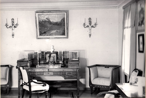 Барский дом.Комната М.Ю. Лермонтова. Экспозиция 1964 год