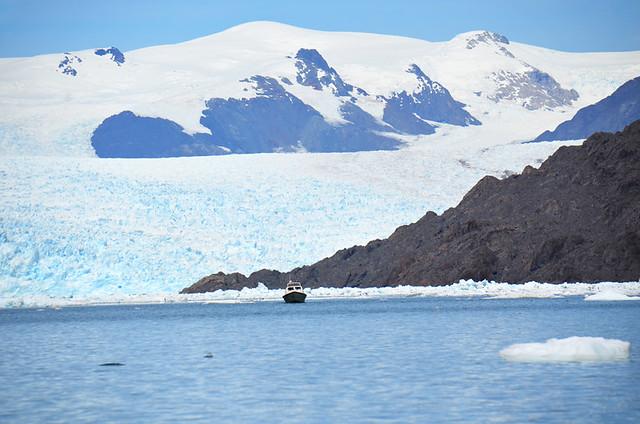Jorge Montt Glacier, Tortel, Chile