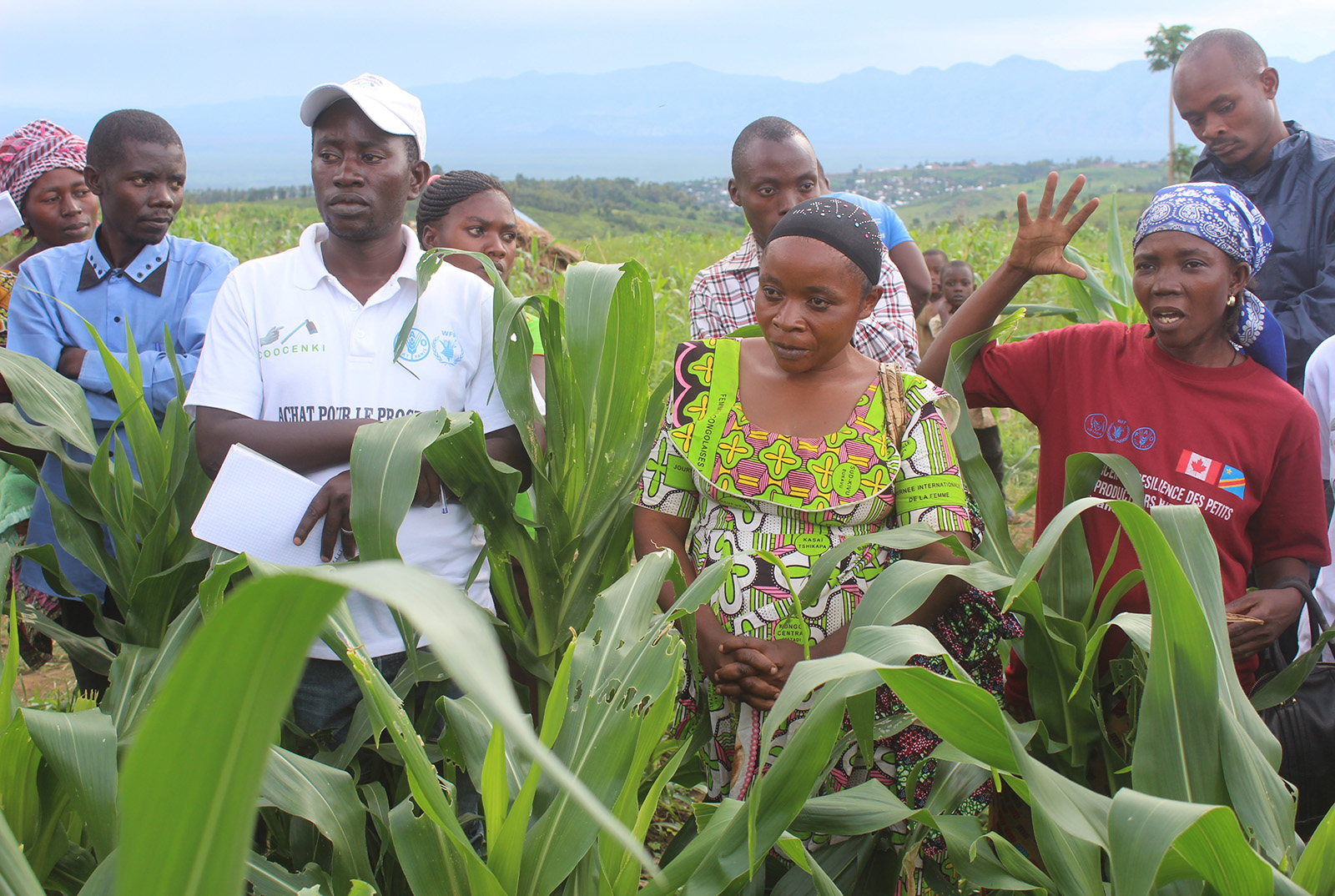 FAO and WFP Emergency and Resilience Directors' mission to the Democratic Republic of the Congo