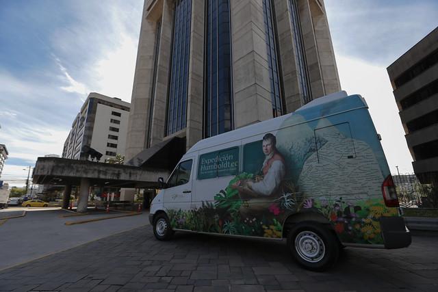 El Humboldt mobil visita el Mineduc en el mes del Medio Ambiente - Quito