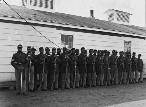 Company E 4th United States Colored Infantry, Theirs was one of the detachments assigned to guard the nation's capital during the American Civil War 1864.
