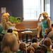 Sat, 2019/06/01 - 10:40am - Clarington Public Library members celebrated diversity and inclusion at a special Drag Queen Storytime on Saturday, June 1st, 2019. Juice Boxx and Lucy flawless encouraged everyone to 'be who you are' through songs and stories!