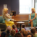 Sat, 2019/06/01 - 10:31am - Clarington Public Library members celebrated diversity and inclusion at a special Drag Queen Storytime on Saturday, June 1st, 2019. Juice Boxx and Lucy flawless encouraged everyone to 'be who you are' through songs and stories!