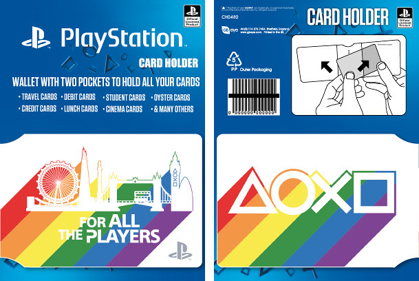 Introducing the PlayStation Pride range from PS Gear