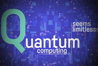 Quantum computing graphic