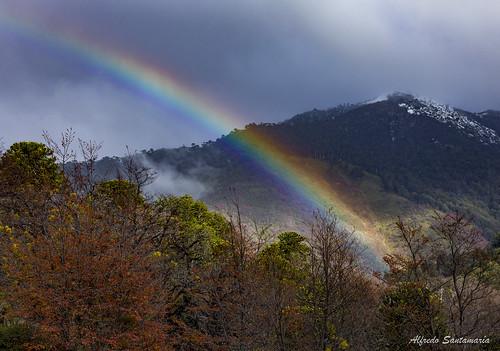 Arcoíris en la Araucanía