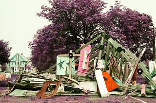 Detroit and metro on lomo purple | by sumacandmilkweed