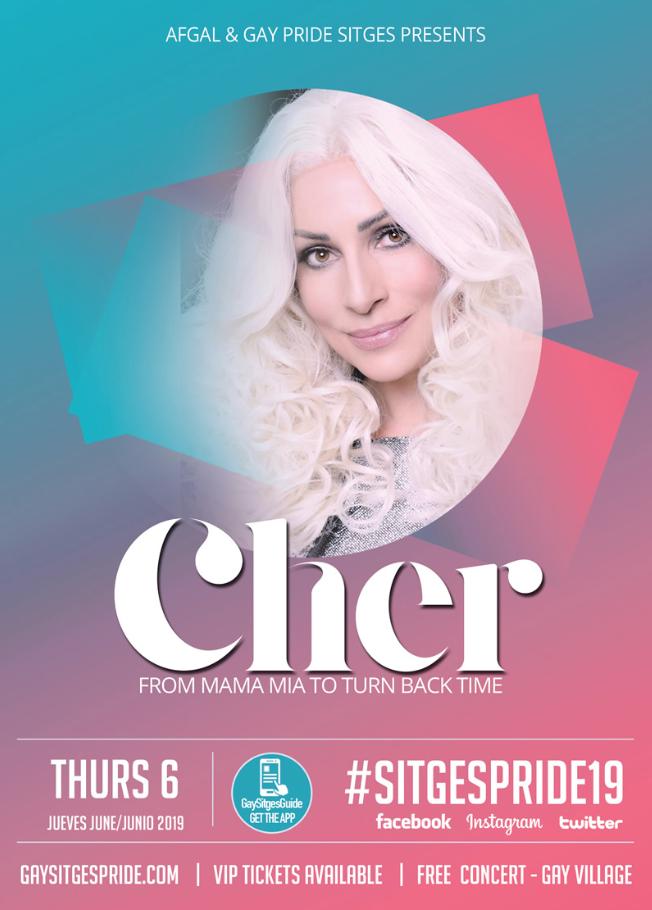 Cher - Gay Pride Sitges 2019