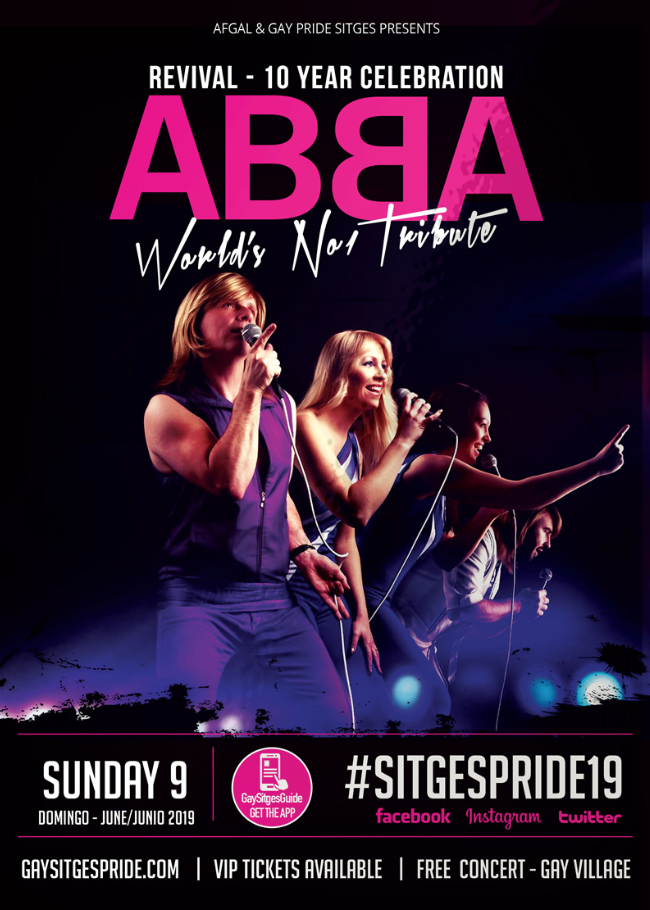 ABBA Tribute - Gay Pride Sitges 2019