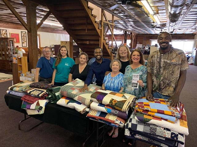 Hurricane Quilts to Community CPR